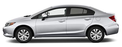 Сервисное обслуживание Хонда Сивик 2012