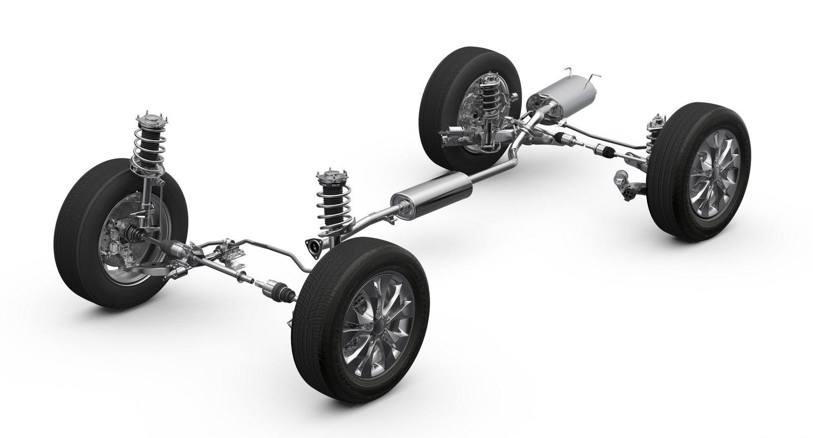 Ремонт ходовой (подвески) Honda CR-V