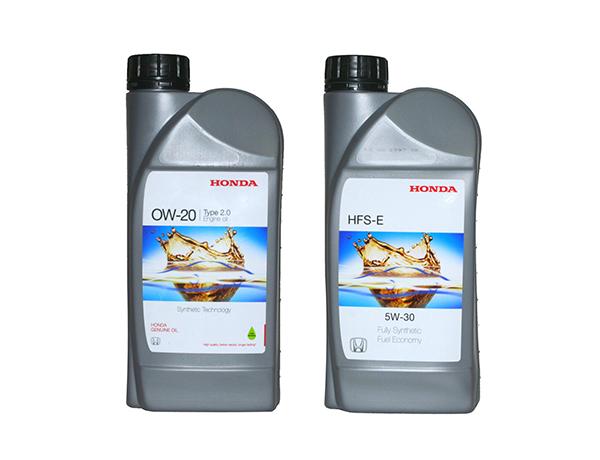 масло моторное HONDA 0W-20 0W-30